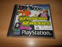 Rascal Racers PS1 Playstation 1PAL version  MINT COLLECTORS