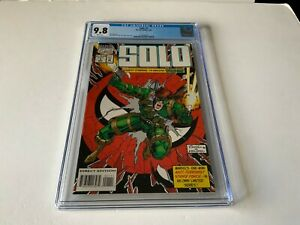 SOLO-1-CGC-9-8-WHITE-PAGES-SINGLE-HIGHEST-GRADED-SPIDER-MAN-MARVEL-COMICS-1994