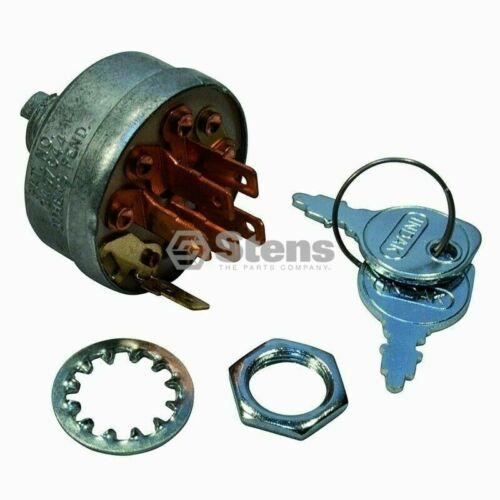 Stens 430-662 Indak Starter Ignition Switch w// 2 Keys Kohler Engines 25 099 32-S