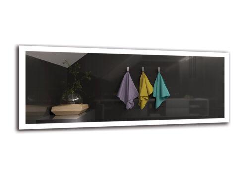 LED Illuminated Bathroom Wall MirrorModernSize VariantsPREMIUM M1ZP-50