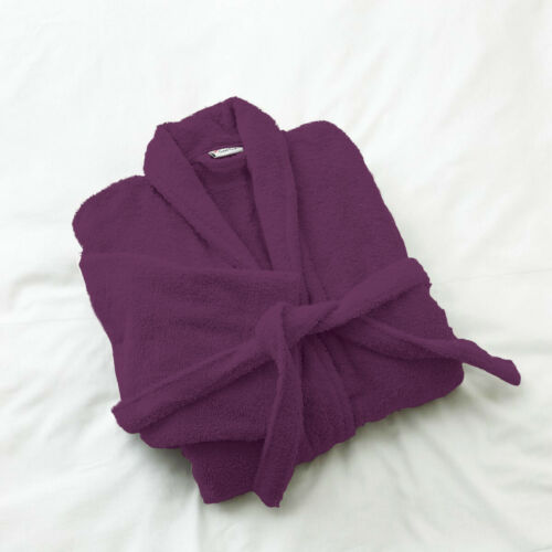 100/% LUXURY EGYPTIAN COTTON TOWELLING BATH ROBE WOMEN DRESSING GOWN TERRY TOWEL