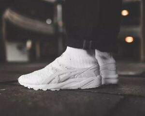 competitive price 5274a 66d0b Details about ASICS Gel Kayano Trainer Knit MT White H7P4N 0101 Men's  Running Shoes Size 9