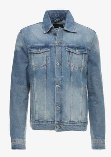 Denim Taglia Jacket Mens Uk Kiomi Xl Blue Cl13 twqFzXHX