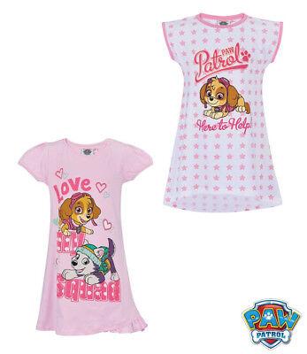 Neu Einteiler Pyjama Schlafanzug Nachthemd Mädchen Paw Patrol 92 104 116 128 #49