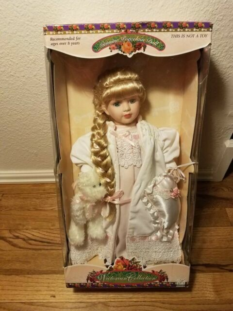"""Victorian Collection Porcelain Doll  by Melissa Jane 16/"""""""