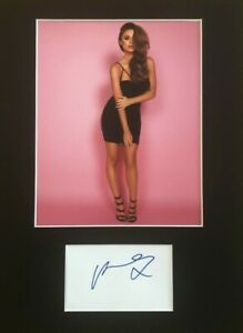Una-Healy-The-Saturdays-HAND-SIGNED-16x12-mounted-display-AUTOGRAPHED