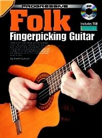 Progressive Folk Picking Guitar Book & Cd-afficher Le Titre D'origine Apparence éLéGante