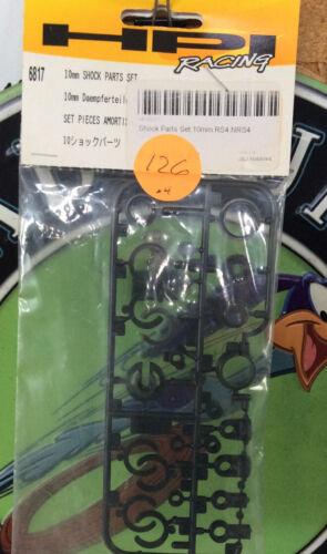 HPI Racing 6817 10mm SHOCK PARTS SET New Unopened Package