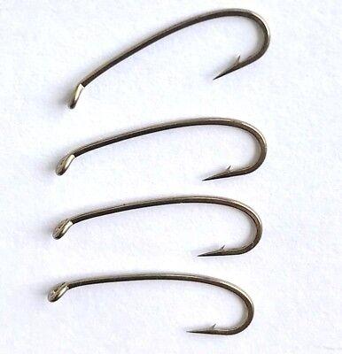390BL #18 #16 #14 #12 #10 fine wire klinkhammer dry fly 2487BL fly hooks 25