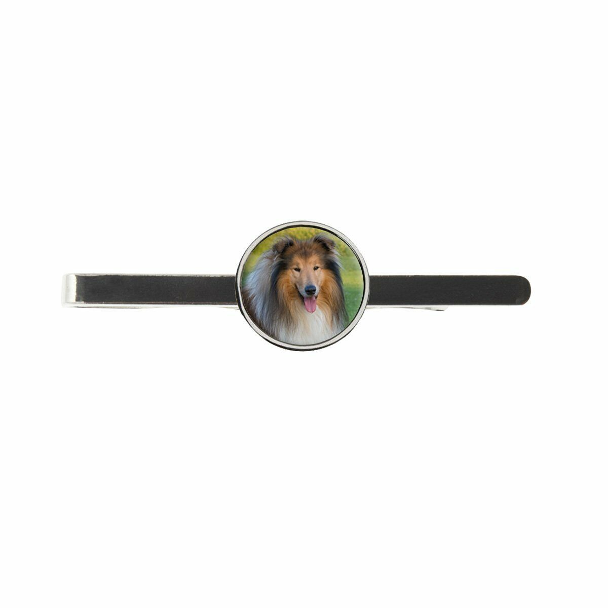 Rough Collie Mens Tie Slide Ideal Birthday Wedding Or Father Day Gift C410