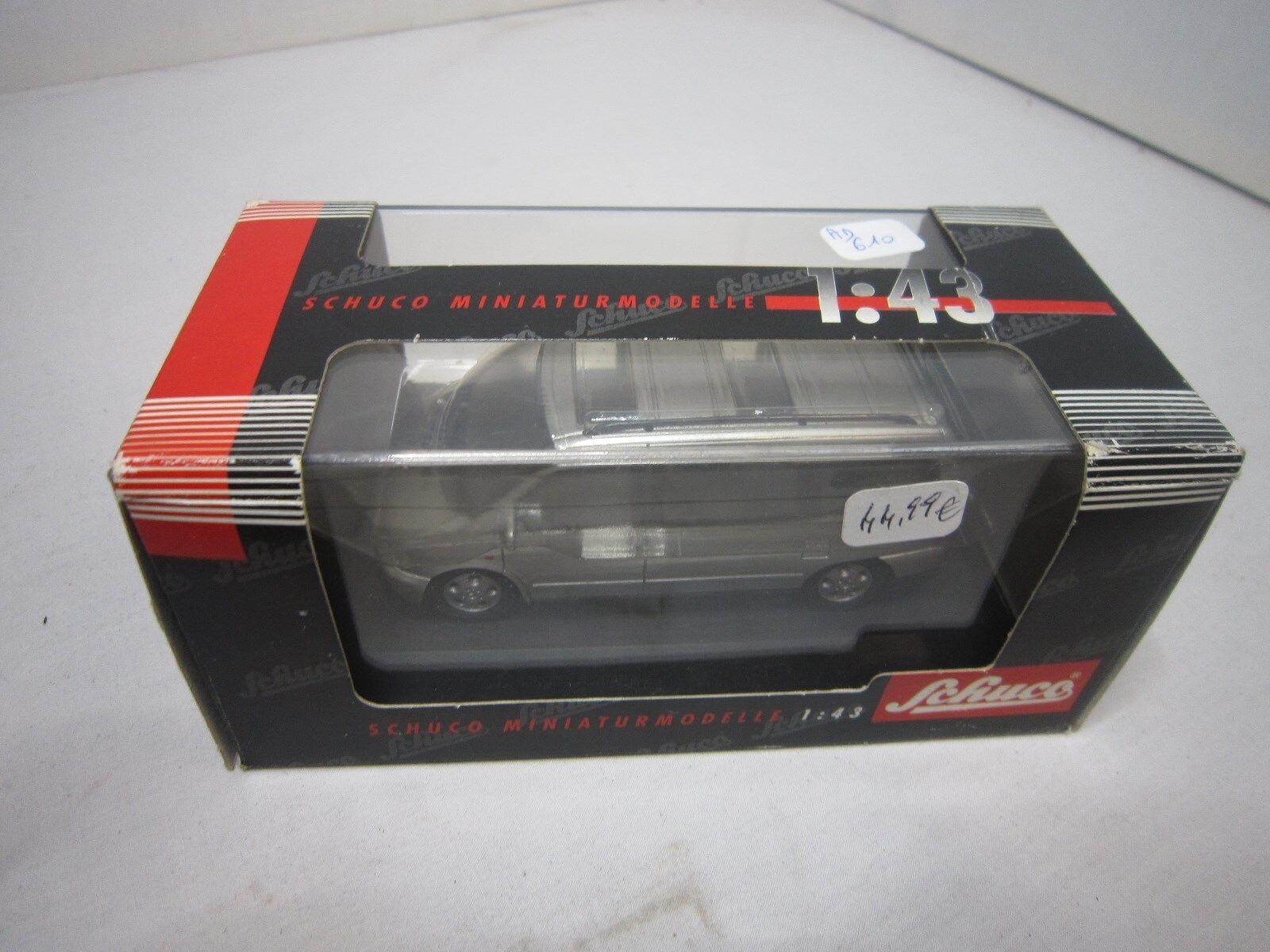 Ad610 schuco 1 43 mercedes benz v 230 grey ref 04281 miniature bon etat