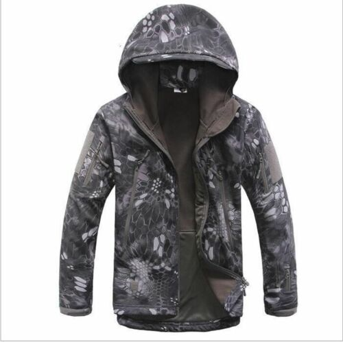 Waterproof Men Coat Tactical Soft Shell Military Jackets Climbing Outdoor Jacket