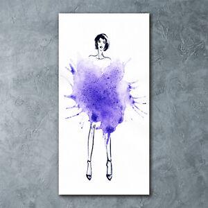 Wand-Bild-Kunstdruck-aus-Acryl-Glas-Hochformat-60x120-Fashion