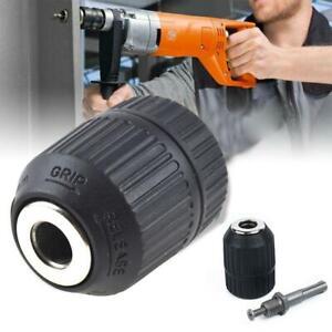 "1//2/"" Jacobs Keyless Hammer Drill Chuck 1//2-20 For DeWalt Milwaukee Makita Bosch"
