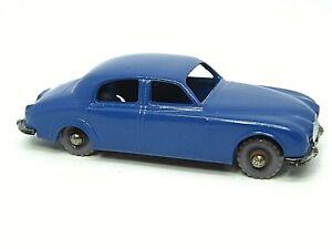 Matchbox-Lesney-No-65a-Jaguar-3-4-Litro-Sedan-numero-de-matricula-trasera-de-Plata