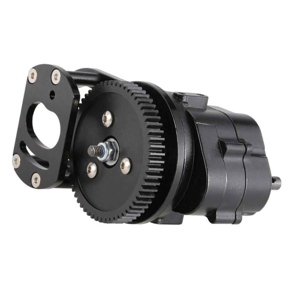 Transmission Case R3 with Motor Gear for 1/10 RC4WD D90 RC Crawler Durable