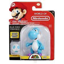 "NEW 2017 Blue YOSHI World Of Nintendo 4.5"" Figure Super Mario"