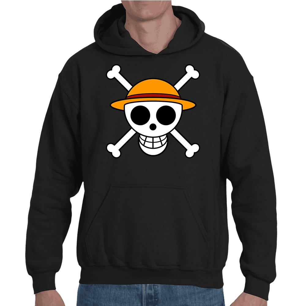 Sweatshirt One Piece Mugiwara Logo