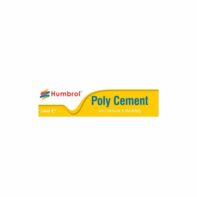 Humbrol Humbae4422 Colle Poly Grand Tube 24ml