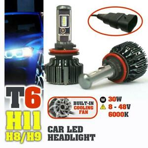 idrop-TURBO-LED-T6-H11-H8-H9-Car-Headlight-Hi-Lo-Beam-30W-EMC-8-48V-6