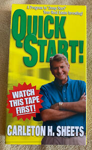 Quick Start: A Program to Jump Start Your Real Estate Investing VHS - Sheets