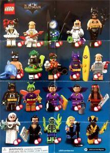 LEGO-71020-Minifig-Figurine-Minifigure-Minifigurine-Serie-2-Batman-Movie-NEUF