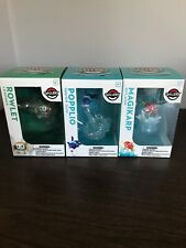 Pokemon Gallery Center Rowlet Leafage Figure Collectible Set of 2