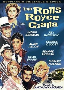 UNA ROLLS ROYCE GIALLA *a&r* DVD NUOVO