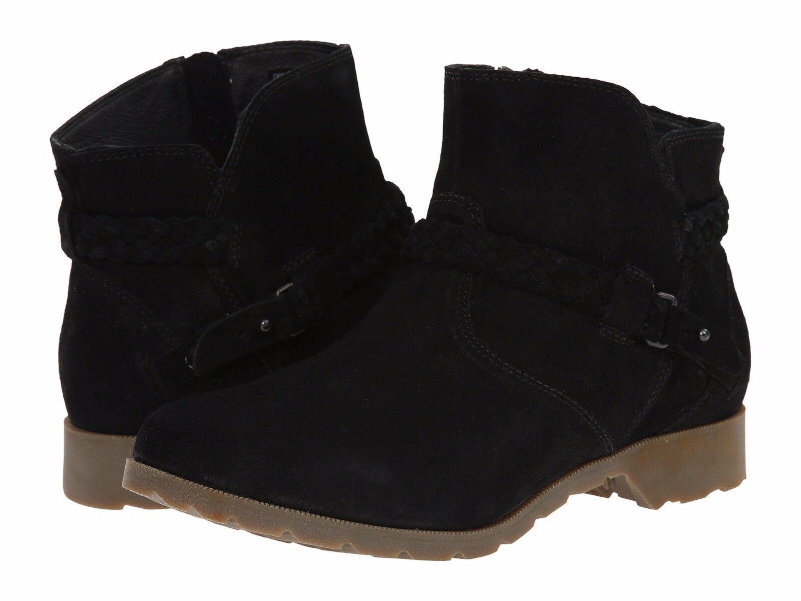 New 0 TEVA 'DeLaVina' Ankle Boots, Braided Belt, sz 6