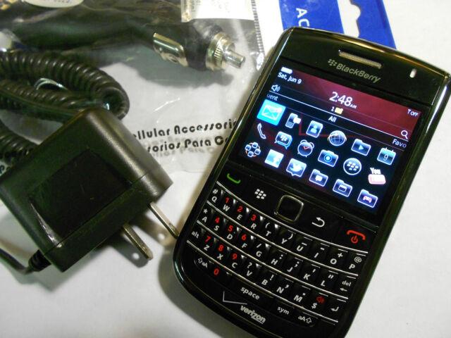 GREAT! BlackBerry BOLD 9650 Camera WIFI QWERTY Bluetooth VERIZON Smartphone