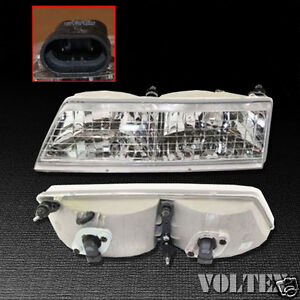 Image Is Loading 1995 1997 Mercury Grand Marquis Headlight Lamp Clear