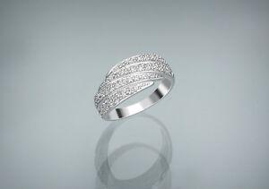 Echtschmuck-Ring-Diamanten-750er-Weissgold-Top-Wesselton-VS-Neu-Brillantring