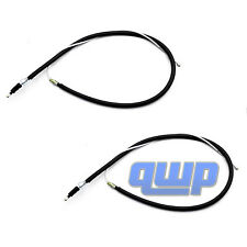 New Pair Left & Right Emergency Parking Brake Cable  Fits VW Jetta Golf Beetle