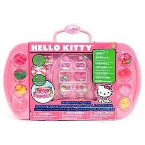 05177ceda Sanrio Hello Kitty Jewelry Making Beads Desk 110 Pieces 765940456057 ...