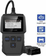 Obdii Scanner Code Reader Obd2 Scan Tool Diagnostic Suv Car Truck Van Vag Ground