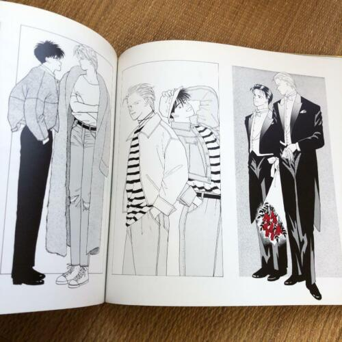 Akimi Yoshida illustration art book Banana Fish Angel Eyes Reprint Edition JAPAN