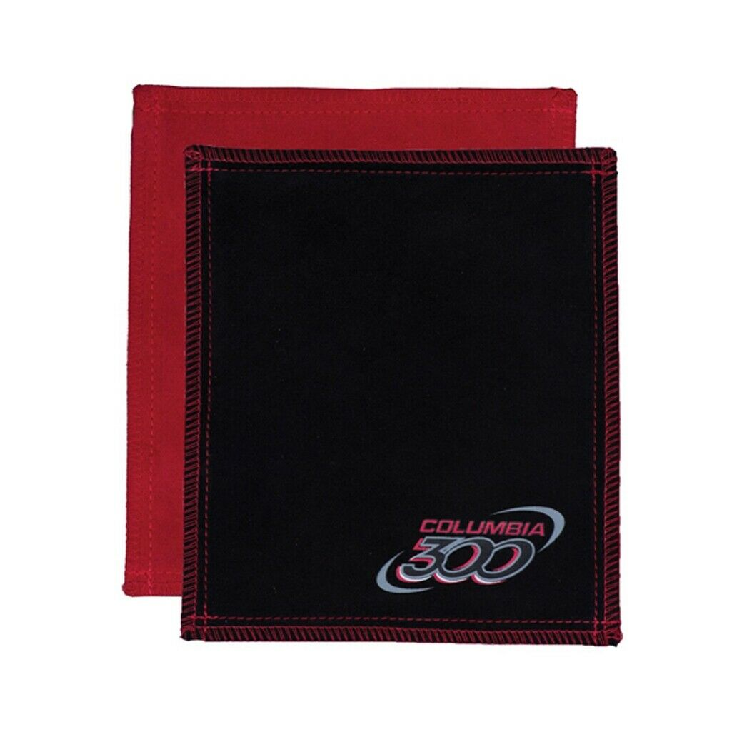 Columbia 300 Leather Shammy Pad Black//red Removes Oil for sale online