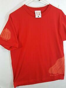 Yayoi-Kusama-Red-Pumpkin-T-shirt-Sz-M-Japan-Museum-of-Art-Medium-MOMA