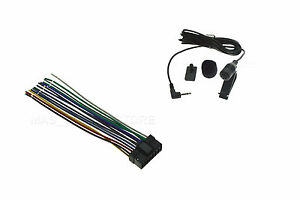 s l300 wire harness & microphone mic for sony xav712hd xav 712hd *pay Sony Wiring Harness Colors at crackthecode.co