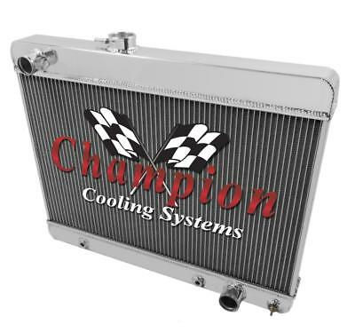 Champion 4 Row Aluminum Radiator MC284 For Olds Pontiac Cars F85