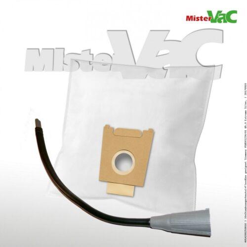 10xStaubsaugerbeutel+Flex geeignet Bosch BSGL 52322//01-//03 Free e Compressor