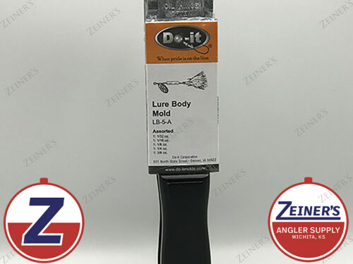 New 3225 Do-It Lure Body Mold LB-5-A