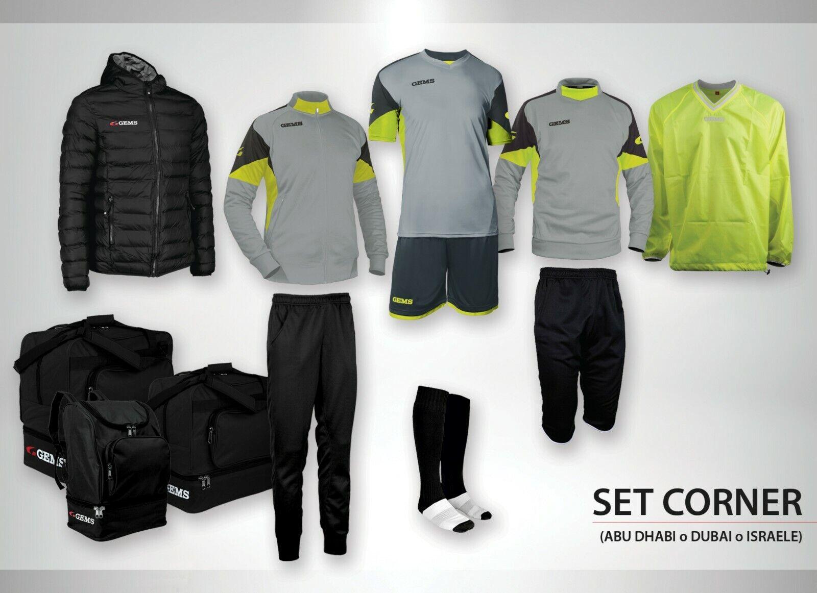 GEMS Kit Calcio Chelsea Azzurro