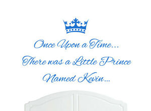 Once Upon a Time Princess Caitlin Wall Sticker Decal Bed Room Art Girl//Baby