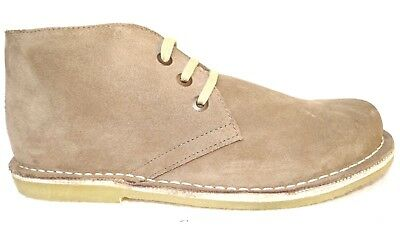 OGS Wide Shoes Sophia Beige Soft Suede Boots 3E wide