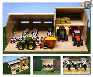 van manen kinder spielzeug stall mit schuppen garage f r. Black Bedroom Furniture Sets. Home Design Ideas