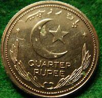 1948  PROOF ONE QUARTER 1/4 RUPEE PAKISTAN,Scarce rare-coin