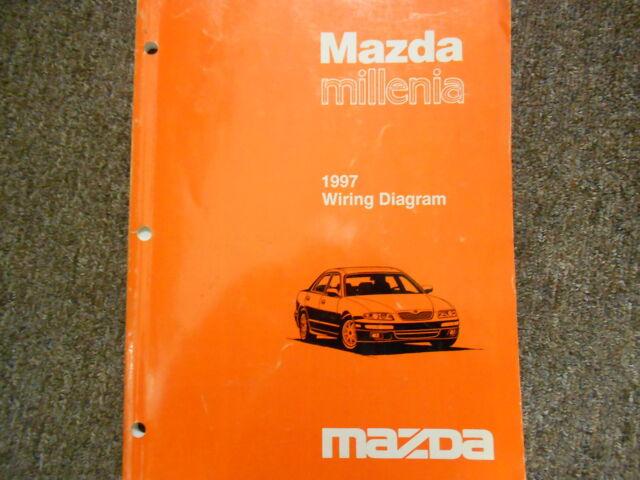 1997 Mazda Millenia Electrical Wiring Diagram Service