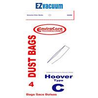 8 Hoover Brand Type C Vacuum Cleaner Bags OEM 2 packs Disposable