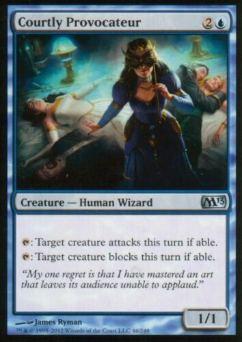4x Courtly ProvocateurNMM13Magic MTG